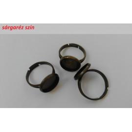 Ragasztható gyűrű alap 12mm-es lencséhez (1 db)