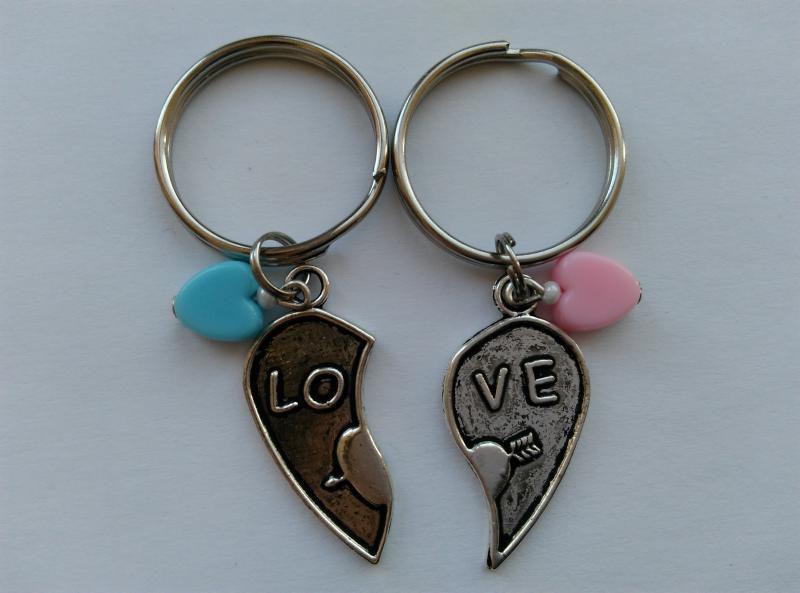 Kulcstartó szett - LOVE