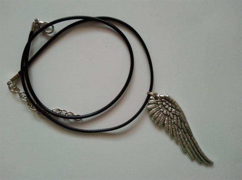 Nyaklánc medállal - angyalszárny