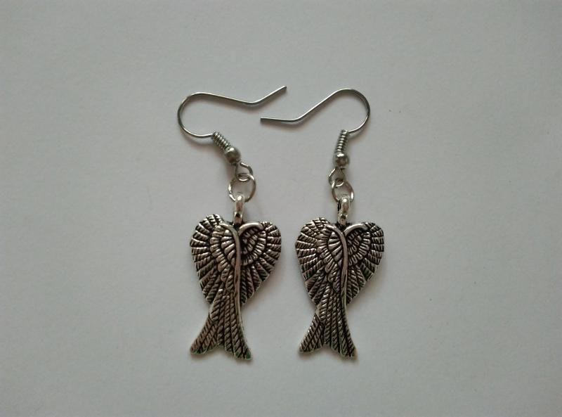 Fülbevaló - angyalszárny