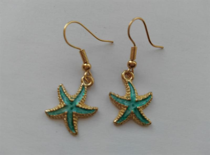 Fülbevaló - tengeri csillag