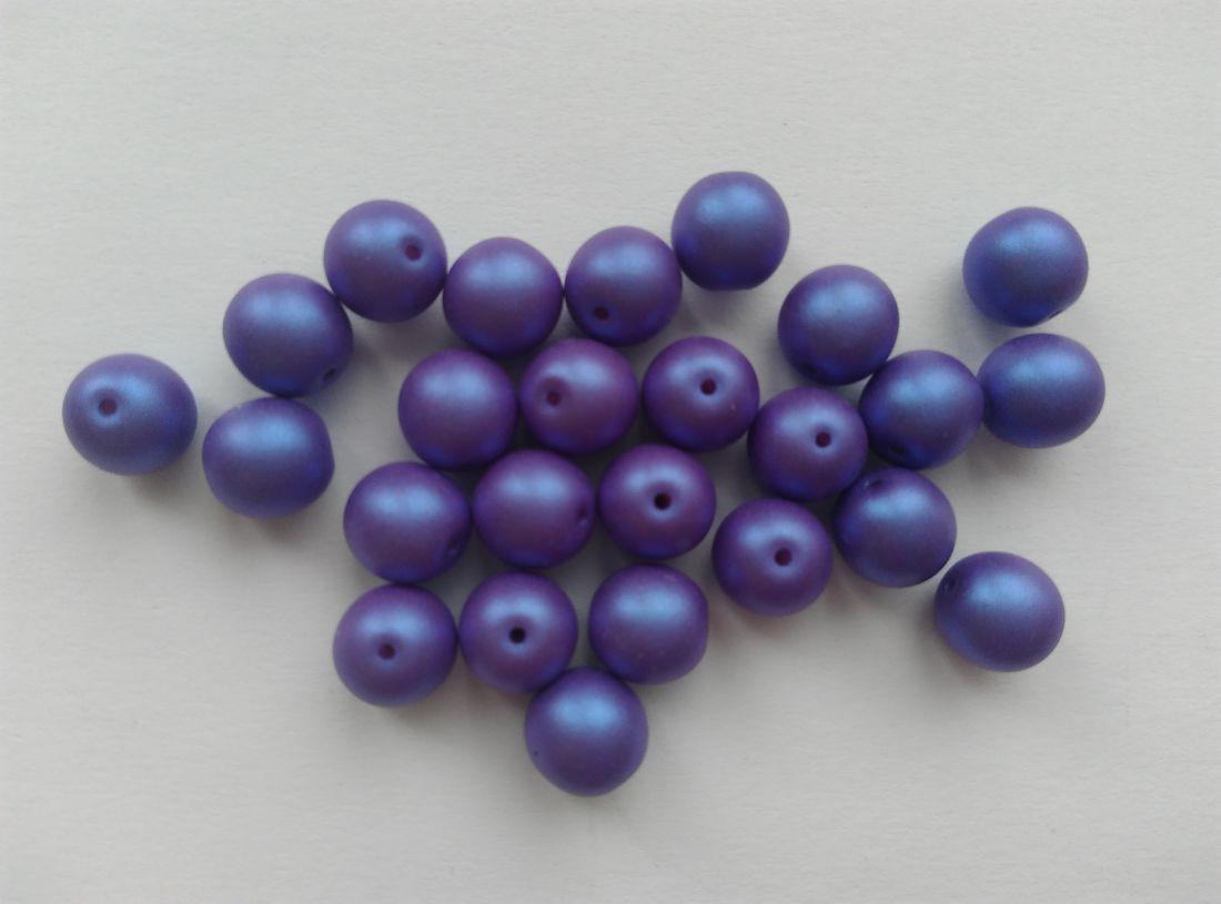 Cseh gyöngy - lila