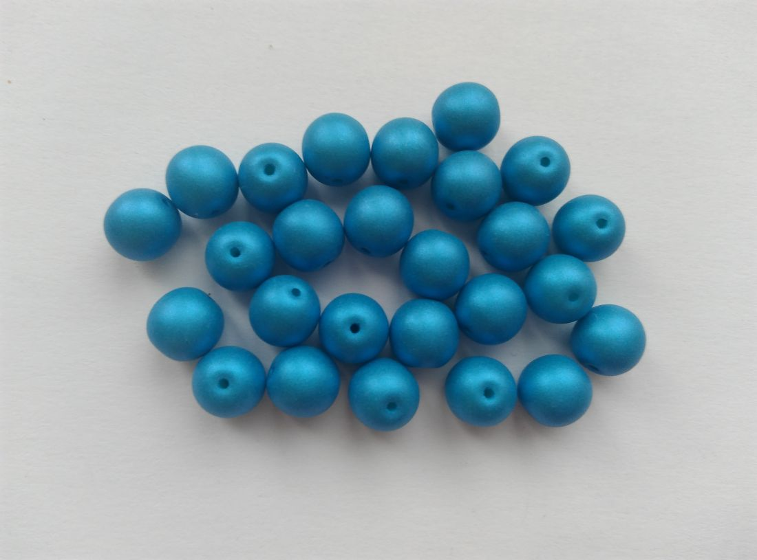 Cseh gyöngy - kék