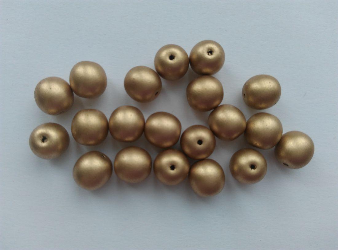 Cseh gyöngy - arany